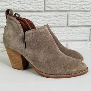 Jeffrey Campbell Rosalee Ankle Booties 7 Taupe